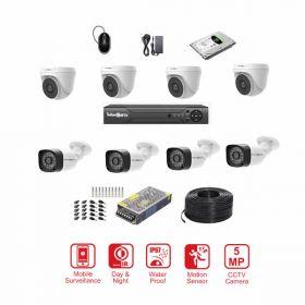 CCTV 5MP Pro Series 8 CH Complete Bundle