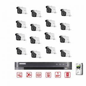 Hikvision CCTV Bundle 16CH DVR - 5MP Camera