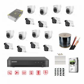 Hikvision CCTV Bundle 16CH 1080P 2MP