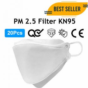 20Pcs 4 Layer Face Mask KN95 Complete Protection
