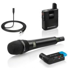 Sennheiser AVX wireless digital microphone system combo 4