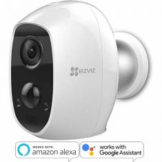 EZVIZ C3A Wi-Fi 1080p Indoor/Outdoor Battery Camera - 3 Month Standalone