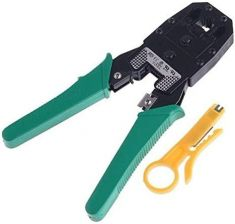 Cat6 Ethernet Cable Crimper Crimp PC Network Tool