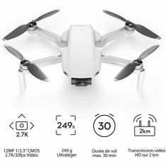 DJI Mavic Mini Fly More Combo - Ultralight Portable Drone