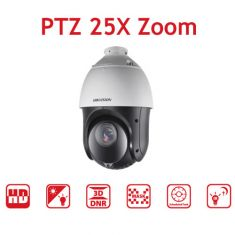 Hikvision PTZ Speed Dome Camera 25X Zoom - 2MP 1080P - DarkFighter IR Analog