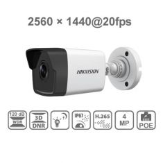 Hikvision 4MP PoE IP Bullet Outdoor Camera