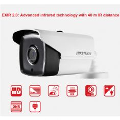 Hikvision 2MP 40M EXIR 2.0 Outdoor Bullet 1080P