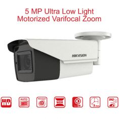 Hikvision 5 MP Motorized Varifocal Bullet Camera 80M IR