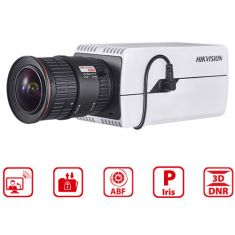 4MP Box Network Camera + Auto-Iris Lens