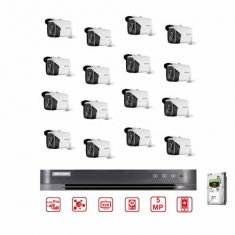 Hikvision CCTV Bundle 16CH DVR - 5MP Camera