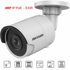 Hikvision 4MP H265+ 2K HD PoE IP Camera