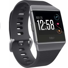 Fitbit Watch Iconic Charcoal Gray