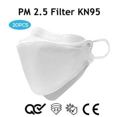 20Pcs Face Mask KN95 Complete Protection