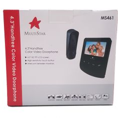 Multistar Video Intercom 4.3inch