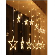 LED String Fairy Lights Star Shape